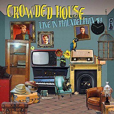 CROWDED HOUSE Live in Phialdelphia '87