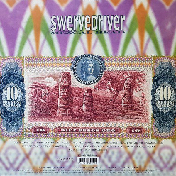 Swervedriver Mezcal Head Lp Ghostrec