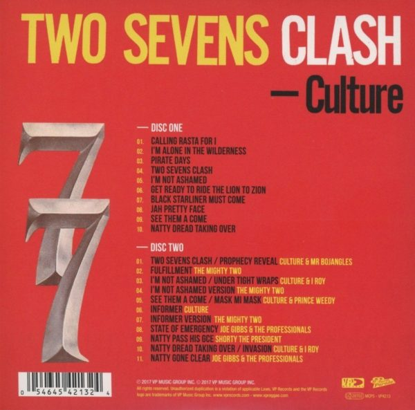 Culture Two Sevens Clash