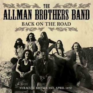 ALLMAN BROTHERS BAND Back On The Road CD Live Radio Broadcastings 1972