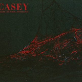 CASEY Where I Go When I Am Sleeping LP Limited Edition red/black vinyl