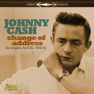JOHNNY CASH Change Of Address - The Singles As & Bs 1958-1962 CD