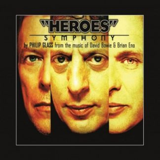PHILIP GLASS Heroes Symphony LP
