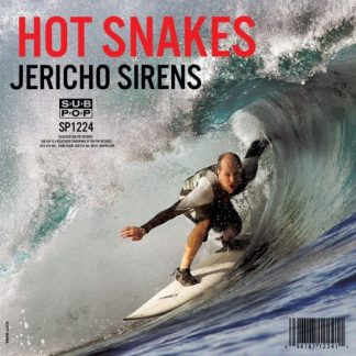 HOT SNAKES Jericho Sirens LP Limited Edition clear vinyl