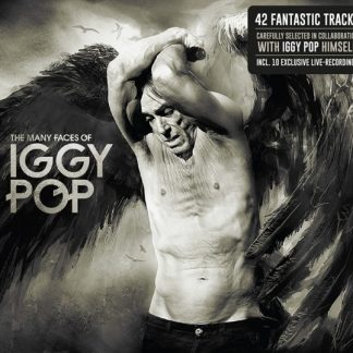 IGGY POP The Many Faces Of Iggy Pop BOX 3 CD