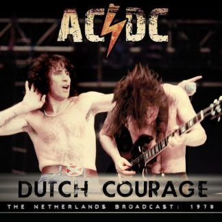 AC/DC Dutch Courage CD Live Radio Broadcasting