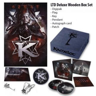 KAMELOT The Shadow Theory BOXSET Limited Edition 2CD + gadgets