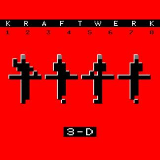 KRAFTWERK 12345678 3-D CD