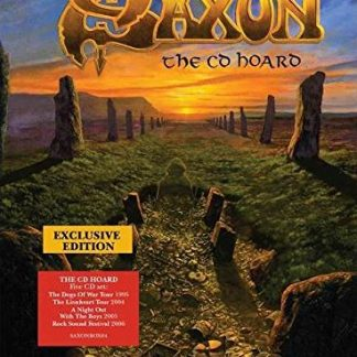 SAXON The CD Hoard BOX 5 CD Limited Edition