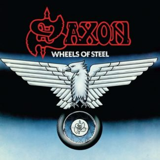SAXON Wheels Of Steel LP Limited Edition