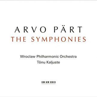 ARVO PART The Symphonies CD
