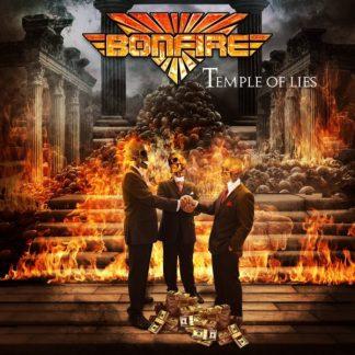 BONFIRE Temple Of Lies LP Limited Edition