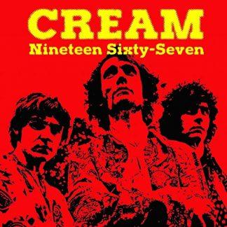 CREAM Nineteen Sixty-Seven CD Live Radio Broadcasting 1967