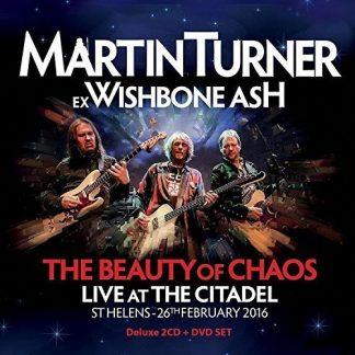 MARTIN TURNER (ex Wishbone Ash) The Beauty Of Chaos BOX 2CD+DVD