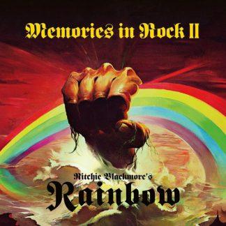 RITCHIE BLACKMORE'S RAINBOW Memories In Rock II BOX 2CD + DVD