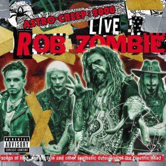 ROB ZOMBIE Astro-Creep - 2000 Live  CD