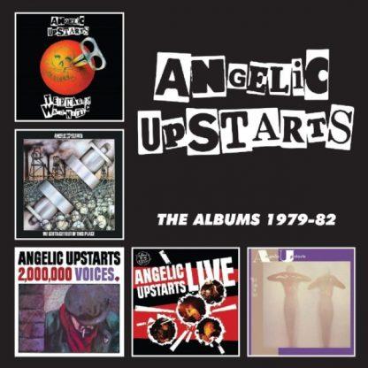 ANGELIC UPSTARTS The Albums 1979-82 BOX 5 CD