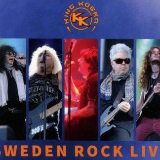 KING KOBRA Sweden Rock Live CD