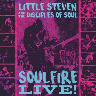 LITTLE STEVEN & THE DISCIPLES OF SOUL Soulfire Live! BOX 3 CD
