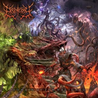 ORGANECTOMY Domain Of The Wretched LP Limited Edition