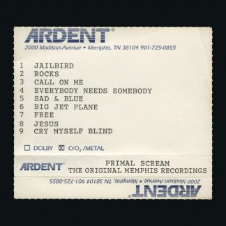 PRIMAL SCREAM Give Out But Don't Give Up-Original Memphis Recordings 2CD