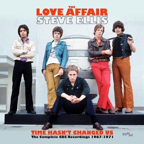 LOVE AFFAIR Time Hasn't Changed Us - CBS Recordings 1967-1971 BOX 3 CD
