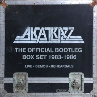 ALCATRAZZ The Official Boot-leg Box Set 1983-1986 BOX 6 CD
