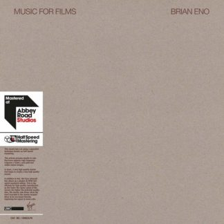 BRIAN ENO Music For Films DLP Limited Edition