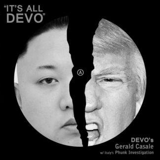 GERALD ?ASALE (Devo) It's All Devo  LP Limited Edition
