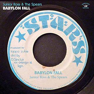 JUNIOR ROSS & THE SPEARS Babylon Fall CD