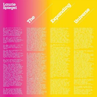 LAURIE SPIEGEL The Expanding Universe 2CD