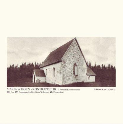 MARIA HORN Kontrapoetik LP Limited Edition