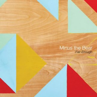 "MINUS THE BEAR Fair Enough 12"" EP Limited Edition"
