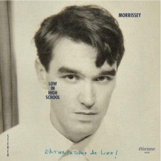 MORRISSEY Low In High School DLP Limited Edition