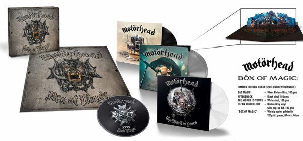 MOTORHEAD Box Of Magic BOX 5 LP Special Edition