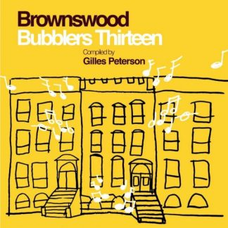 BROWNSWOOD BUBBLERS THIRTEEN (VV.AA.) Gilles Peterson  LP