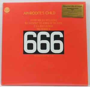 APHRODITE'S CHILD 666 DLP Limited Edition