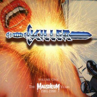 KILLER Volume One - The Mausoleum Years 1981-1990 BOX 4CD