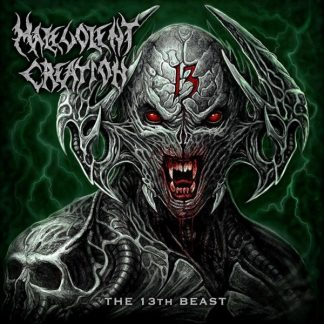 MALEVOLENT CREATION The 13th Beast LP Limited Edition