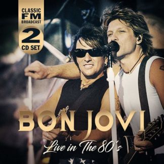 BON JOVI Live In The 80s 2CD