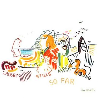 CROSBY STILLS NASH & YOUNG So Far LP Limited Edition