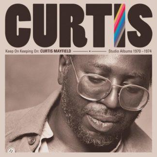 CURTIS MAYFIELD Keep On Keeping On - Studio Albums 1970-1975 BOX 4LP
