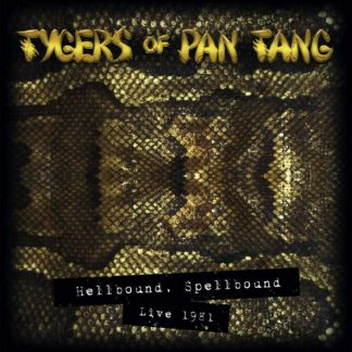 TYGERS OF PAN TANG Hellbound Spellbound '83 LP Limited Edition