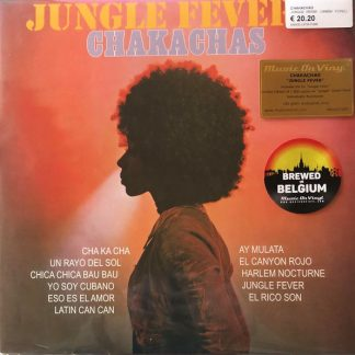 CHAKACHAS Jungle Fever LP Limited Edition