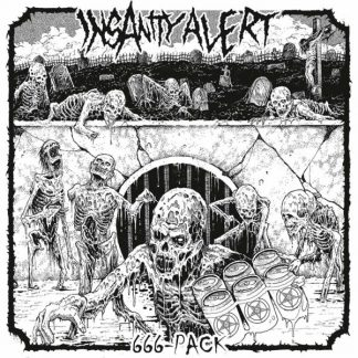 INSANITY ALERT 666 Pack LP Limited Edition