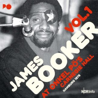JAMES BOOKER At Onkel Po's Carnegie Hall 1977 DLP