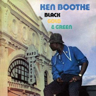 KEN BOOTHE Black Gold & Green LP Limited Edition