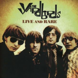 YARDBIRDS Live & Rare BOX 4CD + DVD Limited Edition