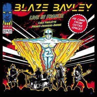 BLAZE BAYLEY Live In France 2CD
