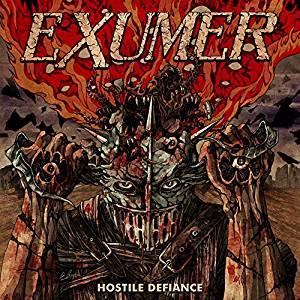EXUMER Hostile Defiance LP Limited Edition